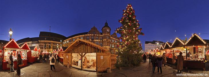 Weihnachtsmarkt Dusseldorf 2012