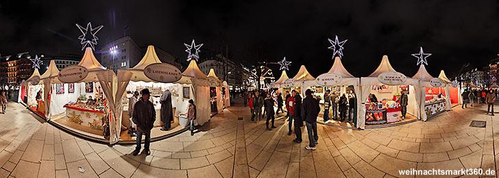 Jungfernstieg Weihnachtsmarkt.Weihnachtsmarkt Hamburg Jungfernstieg Weihnachtsmarkt360 De