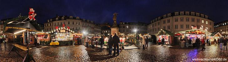Heidelberg Weihnachtsmarkt.Weihnachtsmarkt Heidelberg