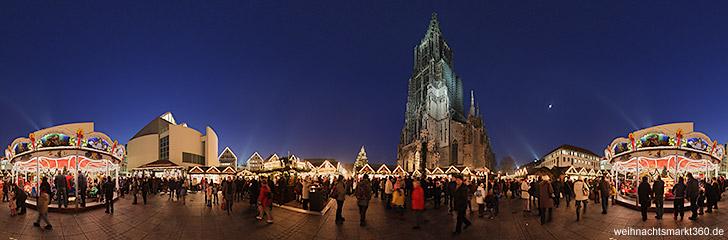 Ulm Weihnachtsmarkt.Weihnachtsmarkt Ulm